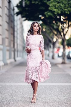 Wedding guest dresses for ladies in the style of boho chic - Kleid - Summer Dress Outfits Women's Fashion Dresses, Sexy Dresses, Beautiful Dresses, Pink Dresses, Lace Dresses, Dressy Dresses, Beautiful Gorgeous, Club Dresses, Vestidos Sexy