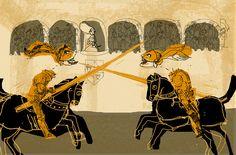 Illustration by Isol – from 'La bella Griselda / Beautiful Griselda'