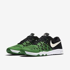 competitive price 0b336 d6d1c Nike Train Speed 4 AMP Oregon Ducks Mens Shoes 13 Apple Green Black 844102  301