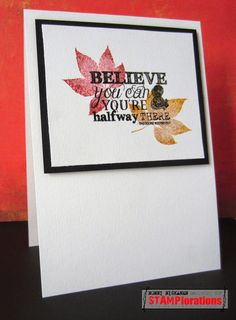 Card by Nonni featuring Typografia - Stamp Release Blog Hop Day 3