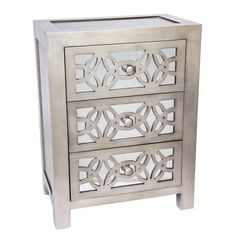 Found it at AllModern - Glam Slam 3 Drawer Cabinet
