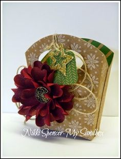 Nikki Spencer-My Sandbox: Fry Box Gift Bag...Link to Tutorial.