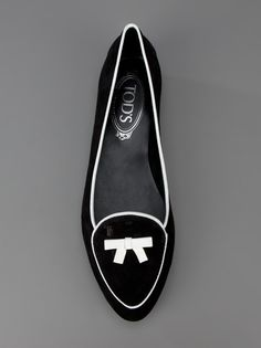 Tod's looks like Capezios I wore in college!