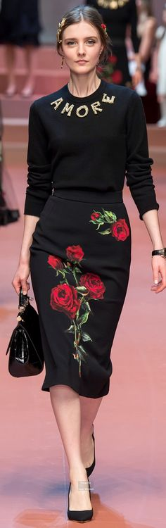 Dolce & Gabbana Collections Fall Winter 2015-16 collection