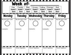IT'S A JUNGLE OUT THERE! {A JUNGLE THEMED EDITABLE BEHAVIOR CLIP CHART} - TeachersPayTeachers.com