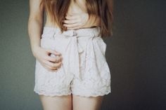 Lace Shorts I wish