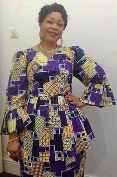 FROM DRC African Attire, African Wear, African Women, African Outfits, African Lace Dresses, Latest African Fashion Dresses, Ankara Dress, Amai, Blouse Styles