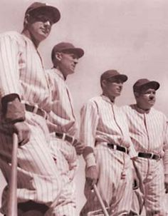"""Murderer's Row""- 1927 N.Y. Yankees ... yeah. And some mamaluke on TV just called Derek Jeter the greatest Yankee of all time. Sure. Right. Whatever."
