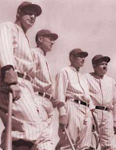 """""""Murderer's Row""""- 1927 N.Y. Yankees"""
