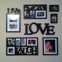 Live, love, laugh frames