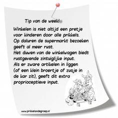 Herfstvakantie in een groot deel van Nederland. De boodschappen kunnen nu niet snel onder schooltijd gedaan worden. Daarom een tip om het boodschappen doen met kinderen aangenamer te maken... ....n...