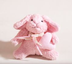 Bunny rabbit handmade with a heart Child's Room by JuliaWine, $44.00