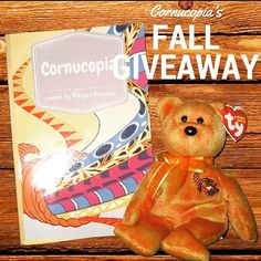 Do YOU want to win something special this holiday season? Cornucopia is giving away an autographed copy of the top-selling children's book along with a Cornucopia Beanie Baby to one lucky winner!! Enter now! Contest ends November 30th 2015 and there will be a few more bonus prizes. Don't miss out! Entry link in our bio!   #childrensbook #childrenspoems #childrenspoetry #scholasticbookfair #teacherlife #momlife #lundeens #vromans #pengiunbooks #momsofinstagram #teachers #giveaway #giveaways…