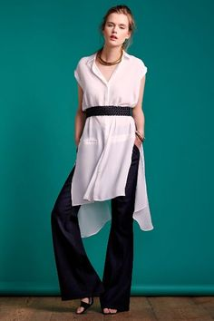 Level 99 Tanya High-Rise Trousers #anthrofave #anthropologie.com