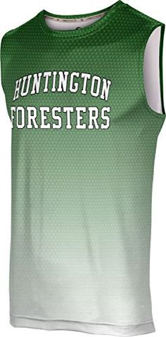 ProSphere Mens Huntington Community College Zoom Sleeveless Tech Tee -- Visit the image link more details.