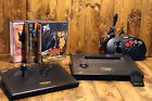 SNK NEO GEO Neogeo AES Console System Used 3 Games Memory Card 2 Joysticks