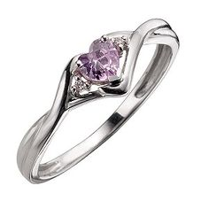 heart ring. Maybe for engagement