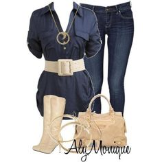 This outfit is so cute, love the jean look!