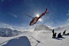 Heliski.Traumhafte Heliskiingverhältnisse. Air Zermatt AG.