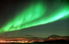 Tromsø, Norway...yes, the Northern Lights are that amazing there!!