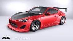 ML24 Design GT86/BRZ/FRS Body Kit