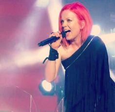 Shirley! Love love her pink hair !!