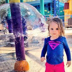Texas Summers at the Splash Pad! @Mandy Dewey Seasons Hotel Austin #CaptureTX
