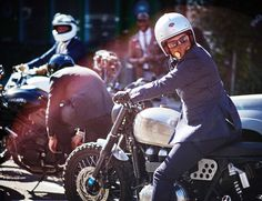 The Best Dressed Men on Motorcycles Ride Again Photos | GQ