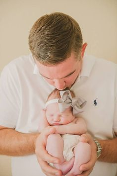 Newborn photography Daddy & Daughter