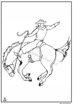 Cowboy coloring pages 04 Cowboy Images, Color Pictures, Free Coloring Pages, Colorized Photos, Free Colouring Pages