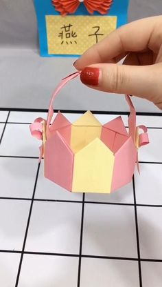 Diy Crafts To Do At Home, Diy Crafts For Gifts, Fun Crafts, Crafts For Kids, Paper Crafts, Oragami, Origami Art, Origami For Beginners, Diy Gift Box
