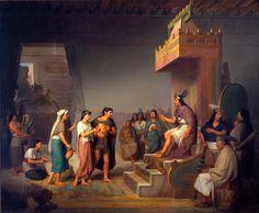 José Obregón. El descubrimiento del pulque, 1869