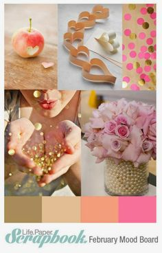 Life. Paper. Scrapbook. : February Mood Board Challenge