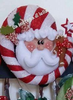 Christmas Stocking Kits, Felt Christmas Stockings, Felt Christmas Decorations, Christmas Sewing, Christmas Tree Ornaments, Christmas Wreaths, Holiday Decor, Christmas Makes, Christmas Art