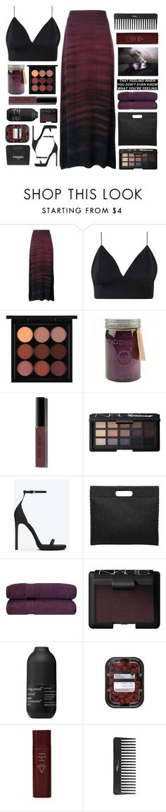"""Untitled #2542"" by tacoxcat ❤ liked on Polyvore featuring Raquel Allegra, MAC Cosmetics, Paddywax, Bobbi Brown Cosmetics, NARS Cosmetics, Yves Saint Laurent, Living Proof, Chanel, Byredo and Sephora Collection"