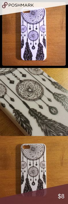 iphone 5 case - bohemian, boho, dreamcatcher, cute Phone case fits iPhone 5/5s. Very good condition. Unknown brand Accessories Phone Cases