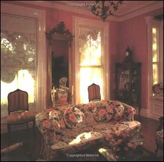Victorian Style Decor | Victorian Decorating ideas - Vintage decorating - Victorian Boudoir ...