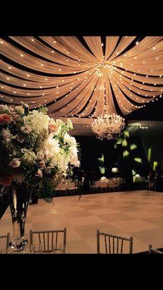 Wedding Lightning Ideas Every Bride Will Love wedding reception 31 Stunning Wedding Lightning Ideas Every Bride Will Love Tent Wedding, Wedding Stage, Wedding Goals, Rustic Wedding, Wedding Ceremony, Our Wedding, Wedding Venues, Dream Wedding, Wedding Draping