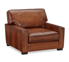 This beauty if our new addition to our baby room! Who needs a rocker when you can have a cozy leather chair?!
