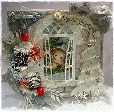 Magnolia cards by Debbie