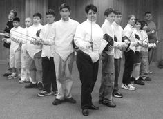 Happy 9th Birthday All-American Fencing Academy!  Post your experience/story about your time with AAFA with the hashtag #aafabirthday  The club when it was at Pine Forest Recreation Center.  We'll keep posting some throwback photos throughout the day.  #tryfencing #wedareyounottoloveit #weallplayswords #wedareyounottoloveit #hopetoseeyoufor10yearreunion