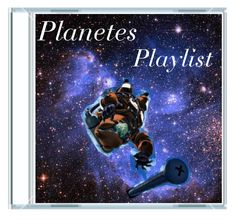 """Planetes Playlist"" by timeladylibrarian ❤ liked on Polyvore featuring art"