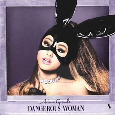 Dangerous Woman by Ariana Grande by on DeviantArt Ariana Grande Cd, Ariana Grande Album Cover, Cabello Ariana Grande, Ariana Grande Pictures, Ariana Grande Dangerous Woman, Dangerous Woman Tour, Cool Album Covers, Music Album Covers, Best Albums