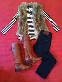 #furvest #stripes #frye #ootd #monkeesoflex #shopmonkees