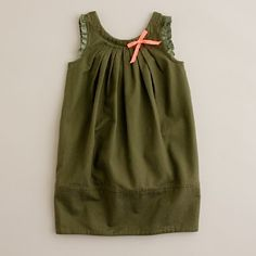 Girls Sun Ray Tucked Dress, JCrew $49.50