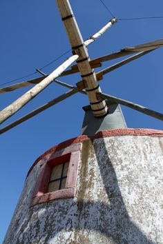 Moinho da Fazarga Portugal, Water Mill, Le Moulin, Windmills, Portuguese, Weather Vanes, Skylights, Windmill, Tools