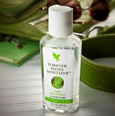 Enriched with soothing aloe and nourishing honey, one squirt of this handy disinfectant can kill 99.9% of germs and bacteria. With a refreshing scent of lemon and lavender, Forever Hand Sanitizer softens and moisturises hands as it cleans. A must-have for your pocket and bag.
