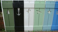 Shutter Exterior Interior ONE Wood Wooden Beach Cottage Lake Country House Shutter - 42 Inch on Etsy, $62.00