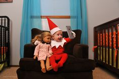 This year, one dad has managed to make everyone's favorite elf even cuter with the help of his 4-month-old baby.