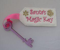 Santas Magic Key, for houses with no chimneys.